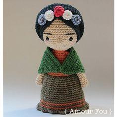 ❤ Mini Frida - Crochet Pattern by {Amour Fo
