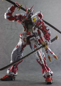 "Custom Build: MG 1/100 Gundam Astray Red Frame ""Metallic Finish"" - Gundam Kits Collection News and Reviews"