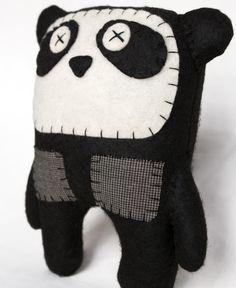 Jealous. Next art project. #panda #diy #plushie