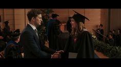 Mr. Grey at Anna's Graduation