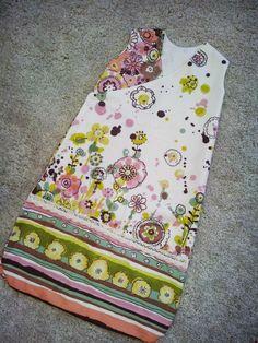 DIY sleepsack out of a pillow case