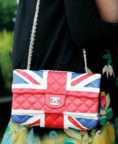 Chanel Bag - Union Jack Flag