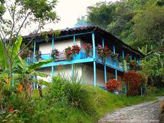 Domino - Ruth Welcome Village House Design, Village Houses, Colombia South America, South America Travel, Colombia Travel, Spanish Colonial, Historical Architecture, Beautiful Places To Visit, Wonders Of The World