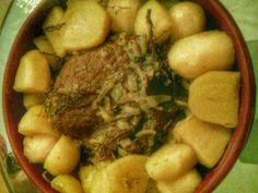 Rouelle de porc au cidre doux : Recette de Rouelle de porc au cidre doux - Marmiton Pot Roast, Pork, Health Fitness, Beef, Chicken, Cooking, Ethnic Recipes, Desserts, Toulouse