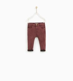 Image 1 of SKINNY COLORED JEANS from Zara