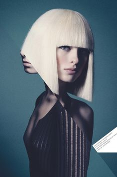 Cool graphic design - haircut by tonkatom