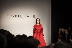 ESME VIE Fashion Show at Rome Couture Fashion Week AltaRoma with preview of Winter 2015 Collection. Photo by Allucinazione for AltaRoma. #esmevie #fashion #fashionweek #winter2015 #collection #inspiration #vintage #vintagefashion #colours #peony #rose #flowers #beauty #luxury