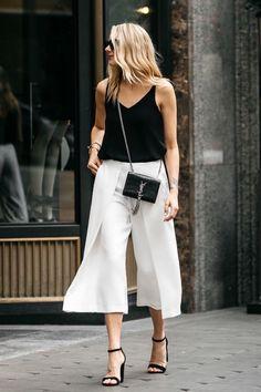 20 Looks Primaverales En Blanco Y Negro Que Son Todo Menos Aburridos | Cut & Paste – Blog de Moda