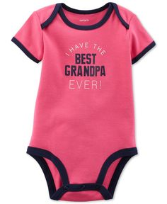 Carter's Baby Girls' Best Grandpa Ever Bodysuit