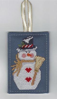 mr cool - Dianna Marcum ( grille à télécharger en Pdf ici... http://www.gloria-pat.com/Images/snowman )