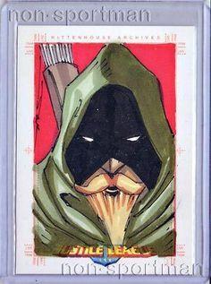 Justice League Archives Green Arrow Sketch Jim Kyle | eBay