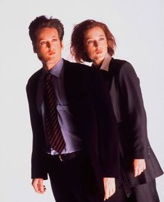 sculder and scully