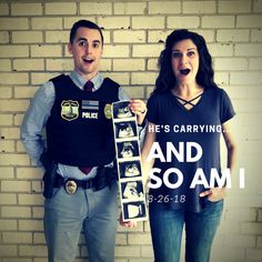 Proud police officers wife announces baby! Proud police officers wife announces baby! Police Officer Wife, Police Wife Life, Police Officer Wedding, Police Girlfriend, Cop Wife, Maternity Pictures, Baby Pictures, Baby Photos, Po Patrol
