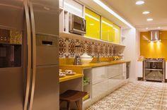 Uma das minhas paixões na decoração: AMARELO  - #cozinha #blog #site #decoração #arquitetura #acasaqueeuquero #novidades #instagram