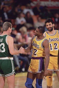Boston Celtics, Lakers Vs Celtics, Magic Johnson, Larry Bird, Los Angeles Lakers, Donald Trump Caricature, Michael Jordan Poster, Basketball Highlights, I Love La