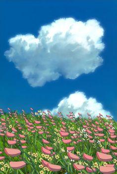 Ideas For Wallpaper Anime Scenery Studio Ghibli Studio Ghibli Films, Art Studio Ghibli, Studio Ghibli Background, Guache, Anime Scenery Wallpaper, Hayao Miyazaki, Totoro, Aesthetic Anime, Aesthetic Wallpapers