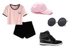 """""""Casual Summer"""" by felisialuissela on Polyvore featuring Andrew Gn and NIKE"""
