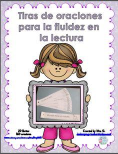 Fluency Practice: Sentence strips in Spanish