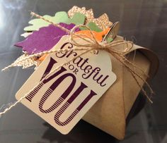 handmade treat, thanksgiving, kraft paper, twine, fall colors, glitter DIY, paper crafting, stamping, greeting cards, *Stampin' Up, by Amy Frillici, demonstrator, Gathering Inkspiration Stamp Studio, order products online at amysuzanne.stampinup.net