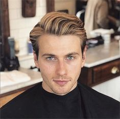 10 Hair Cuts and Hairstyles We're Loving for Guys - HIS Modern Grooming - Modern Salon Cool Hairstyles For Men, Mohawk Hairstyles, Classic Hairstyles, Trending Hairstyles, Haircuts For Men, Female Hairstyles, Black Hairstyles, School Hairstyles, Natural Hairstyles