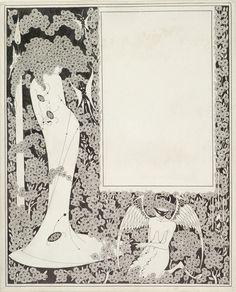 Aubrey beardsley aubrey beardsley, art nouveau, japanese woodcut, ex libr. Art Nouveau, Japanese Woodcut, Aubrey Beardsley, Nature Drawing, Illustrators, Pop Art, Art Drawings, Opera, Erotic