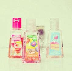 Loving bath & body works hand sanitizer. Just Girly Things #girly