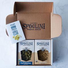 Sfoglini Seasonal Pasta Subscription on Food52
