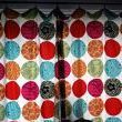 DIY from old bed sheet. No sew. Maybe for my patio door...