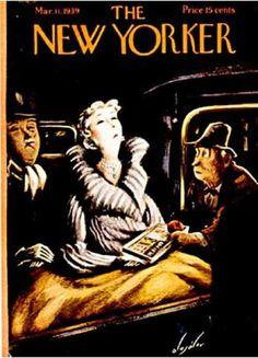 The New Yorker, March 11, 1939 - Constantin Alajalov