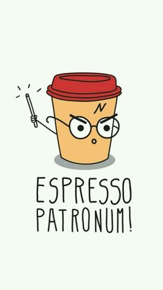 Harry Potter coffee...