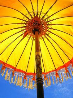 lovely parasol in bali