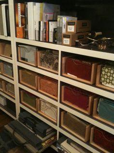 Fabric sample organization