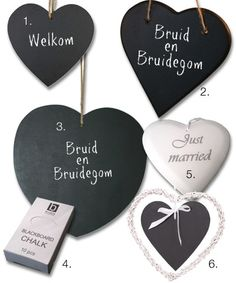 chalkboard heart xs as wedding favor?