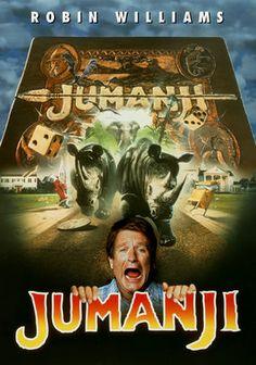 Jumanji - my old fave movie