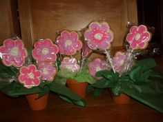 Flower Cookie bouquet