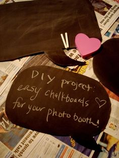 Also for the guestbook so that some of our more outgoing friends/family can get creative with their guestbook pics