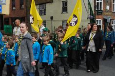 The Annual Scouts Parade.