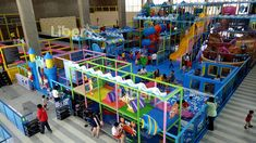 Liben Indoor Trampoline Park and Soft Play Center Project in Malaysia-3