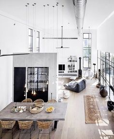 Open-plan living. For more, visit houseandleisure.co.za