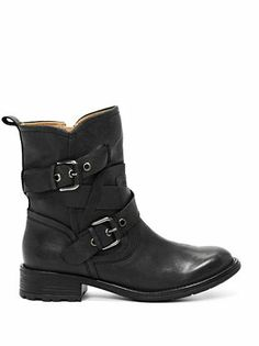 0c912d26f7b4 Grier Buckle-Detail Booties at Guess