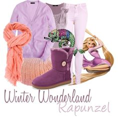 Winter Wonderland: Rapunzel - Polyvore