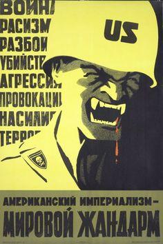 American Imperialism - The World's Gendarm by Veniamin Briskin, 1968