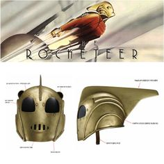 Rocketeer helmet...if I could only go back 22 years to my 8 yr old self and give him this so he didn't have to use underwear and shoeboxes...