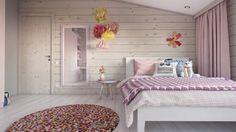 Pasztellrózsaszín lányszoba - Gyerekszoba, gyerekbútor és dekoráció - Képgaléria | Lakberendezés, Lakberendező, Lakberendezési Ötletek, Építészet