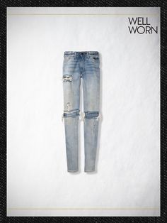 Levi's Vintage Clothing 1966 606 jeans in Sky High Vintage Jeans, Vintage Outfits, Vintage Clothing, Denim Company, My Jeans, Vintage Looks, Indigo, Sky High, Cute Outfits