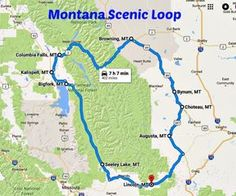 Add This Scenic Drive To Your Montana Bucket List Right Away , Add This Scenic Drive To Your Montana Bucket Checklist Proper Away Add The Montana Scenic Loop To Your Bucket Checklist Add The Montana Scenic Loop To. Road Trip Map, Road Trips, Usa Road Map, Vacation Trips, Vacation Ideas, Family Vacations, Wyoming Vacation, Yellowstone Vacation, Vacation Places
