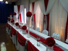 Head Table Centerpieces - Wedding