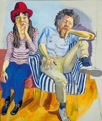 Painting by Alice Neel