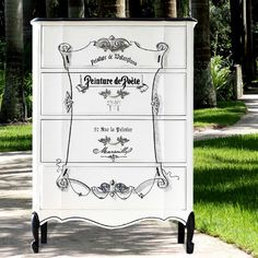 DIY French Dresser - Reader Feature - The Graphics Fairy