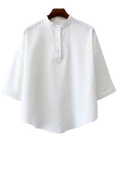 White Collared Shirt | Zaful